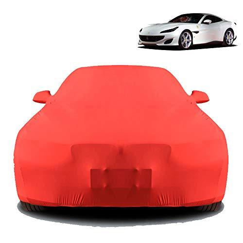 Wanjun La Funda para Coche Es Compatible con Ferrari Portofino, Funda para Coche De Tela Elástica,
