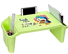 Small Table With Storage Lap Laptop Desk Home Bedroom Furniture Portable