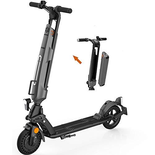 Kugoo Elektroscooter für Erwachsene,E-Scooter mit Straßenzulassung (eKFV),ABE-Zertifizierter,Austauschbarer,Austauschbarer E-Scooter für Jugendliche,150 kg Tragfähigkeit,Faltbare Klapproller