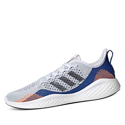 adidas FLUIDFLOW 2.0, Zapatillas de Running Hombre, FTWBLA/NEGBÁS/AZUREA, 41 1/3 EU