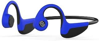Bone Conduction Headphones Wireless, Bluetooth Headsets Wireless Sports Earphones Handsfree Listening Cycling Running Gym (Blue)