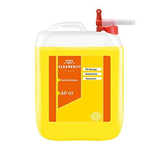 5 Liter Cleanerist AP07 Autoshampoo Konzentrat inkl. Auslaufhahn FLUXX von Sabeu Glanzshampoo für die manuelle Autowäsche und SB-Waschboxen