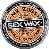 Sex Wax Original Assorted Colors Cool Water Surf Wax