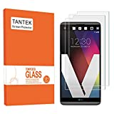 TANTEK [2-Pack] Screen Protector for LG V20,Tempered Glass Film,Ultra Clear,Anti Scratch,Bubble Free,Case Friendly