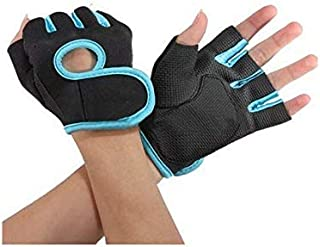 1 Pair Sport Cycling Fitness GYM Weightlifting Exercise Half Finger Sport Gloves for Women