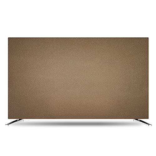 Cubierta De TV LCD A Prueba De Polvo, Tela Protectora De Pantalla De Tv, Tela Blanda EláStica