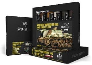 ABTEILUNG 502 Vehicle Weathering & Effect Oil Paint Set (6 Colors) 20ml Tubes