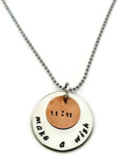 11:11 Necklace, Make a Wish Charm