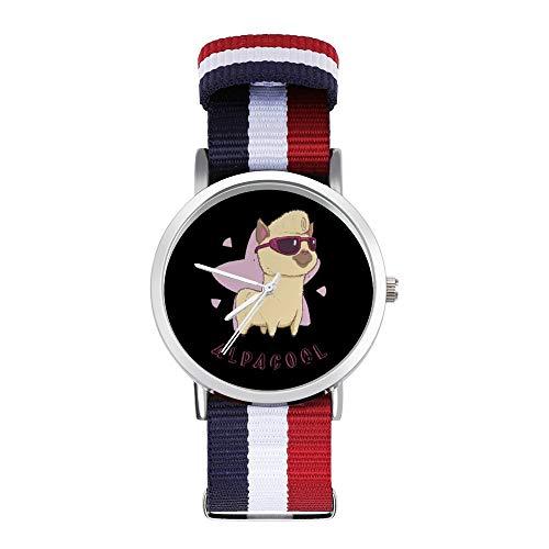 Alpacool Alpaka Freizeit Armband Uhren Geflochtene Uhr mit Skala