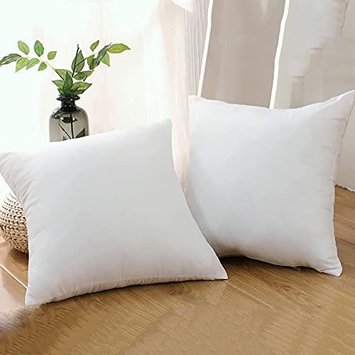 Inserciones de almohadas para el hogar, camas interiores de poliéster 100% y almohadas decorativas cuadradas para sofá, cojines de apoyo súper suaves y transpirables en varios tamaños, 80 * 80 cm Nice