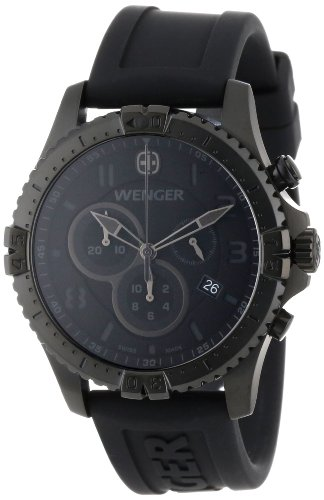 Wenger 77054 Squadron Chrono PVD - coated Montre Gray