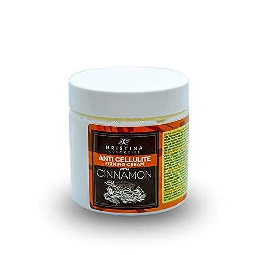 100% natürliche Anti-Cellulite-Creme mit Kaffee und Zimt. Straffende Creme für Körper, Hals, Hände, Beine und Bauch. Straffung und Glättung der Haut. Abnehmen, Fettverbrennung, Anti-Aging, 200 ml.