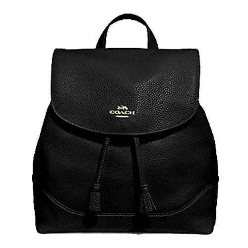 Coach Elle Backpack (Black)