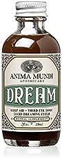 Anima Mundi Lucid Dreaming Elixir - Herbal Liqquid Sleep Support Supplement - Calming Bedtime Tonic with Skullcap, Kava Kava and Rose - Bedtime Tonic to Support Restful Sleep (2 oz)