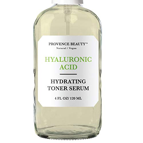 Hydrating Hyaluronic Acid Toner for Face - Facial Setting Spray - Enhanced with Green Tea and Aloe Vera for All Skin Types - Pore Minimizer and Clarifying Dark Spot Remover - 4 Fl Oz