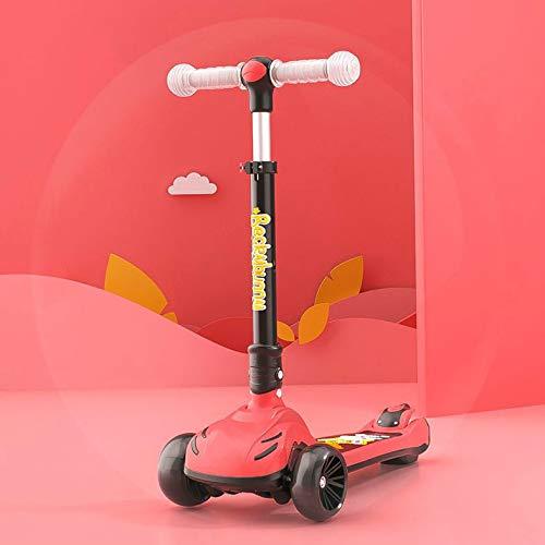 XINKA Kinderroller Der Kinderroller kann auf einem Fuß sitzen und Fahren. Schieben Schieben Klappen 8 Mädchen 6...