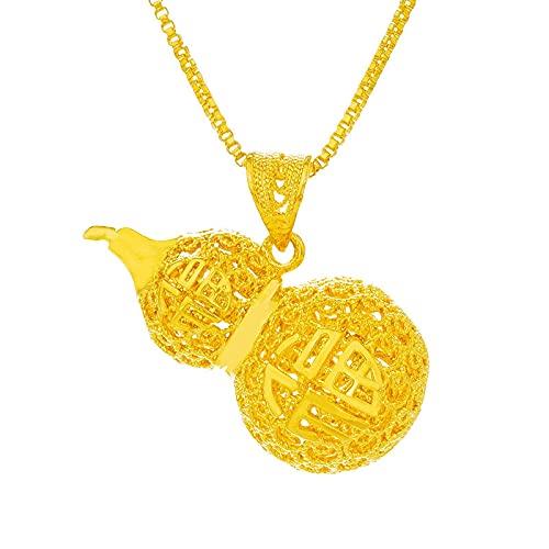 Mujeres Hombres Unisex Fiesta Cumpleaños Regalo de Boda Pixiu Gold Charm Colgante