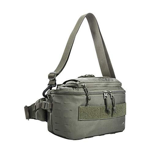 Tasmanian Tiger TT Medic Hip Bag Kit de premiers secours Sac banane Molle Outdoor pour sanitaires, médicals, sauvetage (gris pierre/olive) IRR