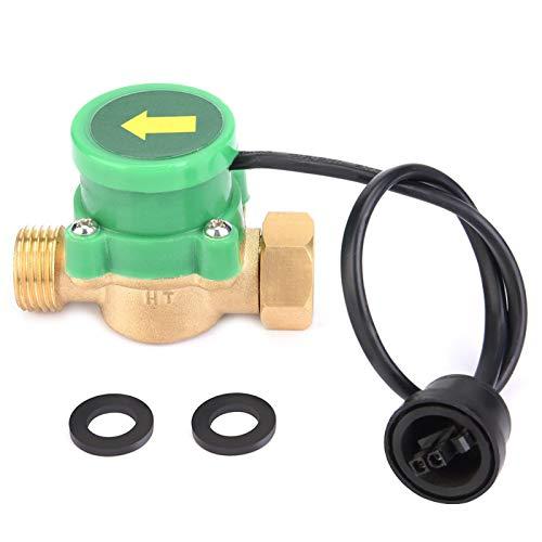 Interruptor de flujo, sensor de flujo de bomba de agua de rosca G1 / 2-G1 / 2, interruptor de control automático de presión electrónica 220 V, para la familia de áreas de baja presión