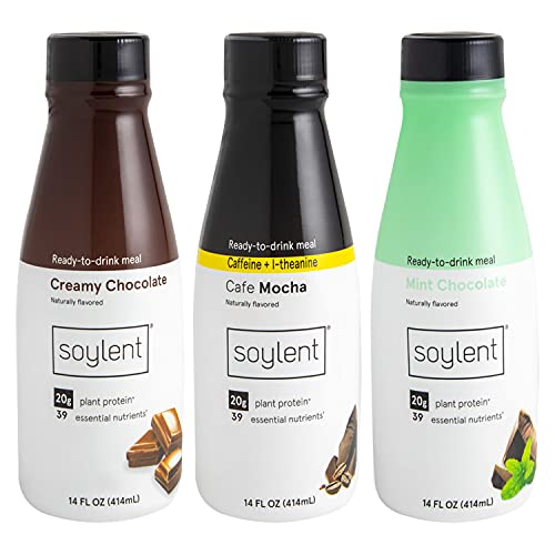 Soylent Complete Nutrition Shake Chocolate Variety Pack | Amazon