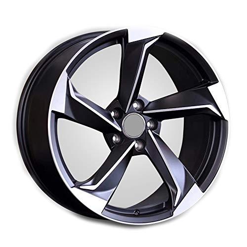 GYZD Alu Felgen 18 Zoll Durchfluss geschmiedete Radlegierung Ersatzrad Auto Rad Maschine Aluminium Felge Passend für R18 *8J Reifen Geeignet für a4l a6l a3 a4 a7 a5 q7 1 Stück,G