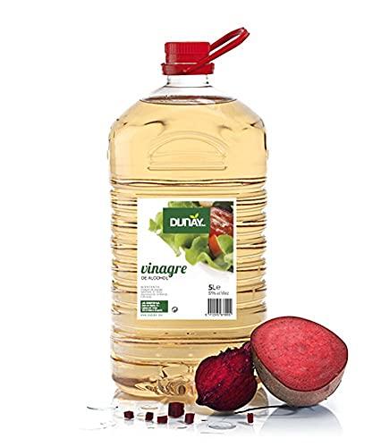 VINAGRE DE ALCOHOL 5% DUNAY GARRAFA 5 LT