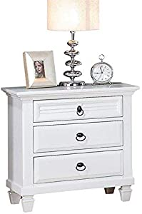 ACME Furniture 22423 Merivale Nightstand, White, One Size