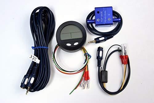 Flowtrecs Mini Elektronische Kraftstoffanzeige Durchflussmesser Boot Computer