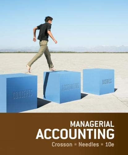 Crosson, S: Managerial Accounting