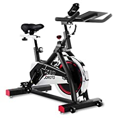 ✅Solid Build - The AV type frame, 50mm thickened frame tube, 35lbs flywheel and 280lbs user weight capacity gives this indoor bike a rock solid build. It's great choice for stationary bike. ✅Fully Adjustable - With 2-way adjustable handlebar and 4-wa...