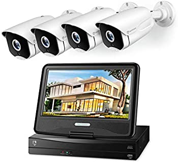 HeimVision HM541 5MP PoE Security Camera System with 10