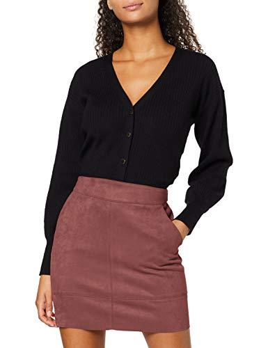 ONLY Damen ONLJULIE FAUXSUEDE Bonded Skirt OTW NOOS Rock, Rose Brown, 38