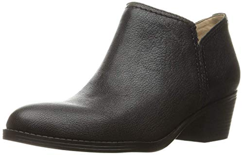 Naturalizer Womens Zarie Ankle Boot, Black, 7.5 M US