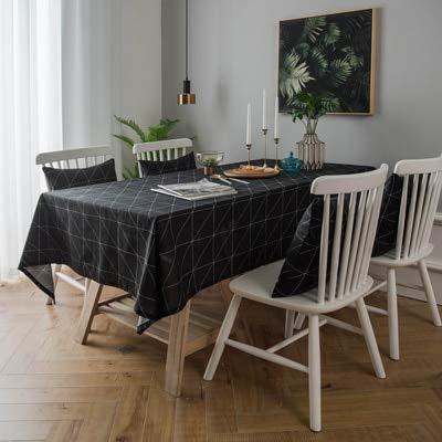 XXDD Marco de Ventana de Mantel para decoración de Bodas, Mesa de Comedor, decoración de Cocina, Mantel Bordado, artículos para el hogar A1 135x160cm