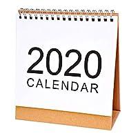 Katigan 卓上壁掛けカレンダー月次計画日次計画プランナー かわいい学校用品-S