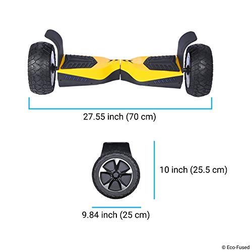 Zaino Impermeabile per Trasportare/Conservare il tuo drifting board (Smart Balance Board a Due Ruote Scooter Elettrico Self Smart Drifting Board) - Tasca in Rete - Spallacci regolabili - Doppio Manico