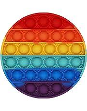 EMZOH Push Pop Bubble Sensory Fidget Toy, Giocattoli per Alleviare lansia Antistress per Autismo Giocattoli Educativi Estrusione per Bambini, Spremere Giocattoli a Bolle di Estrusione per Adulti