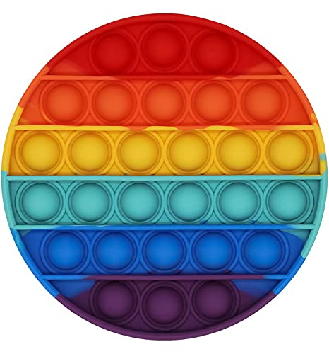 EMZOH Juguete Antiestrés Sensorial de Explotar Burbujas, Push Pop Bubble Sensory Fidget Toy Silicona Sensorial Fidget Juguete Herramientas para aliviar el estrés y la ansiedad para niños y Adultos