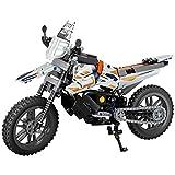 FYHCY Tecnología de Motocicleta, 434 Bloques de sujeción Tecnología de Bicicleta de montaña Modelo de Motocicleta de Carreras, Kit de Bloques de construcción Compatible con Lego Technic