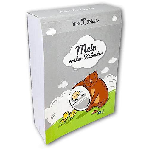 Mein 1. Kalender, Babys erstes Jahr, Geschenk zur Geburt, Babybuch Ratgeber, 365 Tipps und Ratschläge, A6