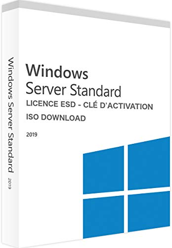 Microsoft Windows 2019 Standard Server X64 1pk DSP 16 Core dt.DVD Standard 1 Lizenz unbekannt PC Disc Disc