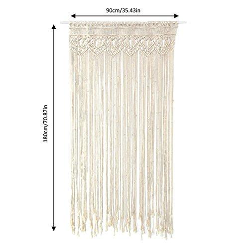 lievevt Makramee Wandbehang Chic handgefertigte Baumwolle gewebt Tapisserie Handwerk für Indoor Outdoor Hochzeit Hintergrund böhmischen Home Decoration