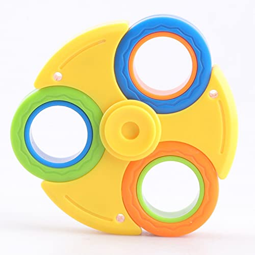 FATIZONE Fidget Spinner Combo Toy | Finger Magnetic Ring Gyroscope | Stress Relief Magnetic Spinner...