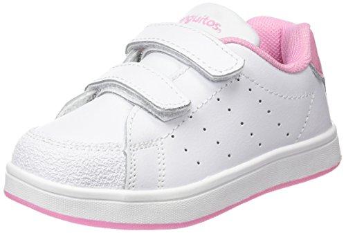 Conguitos Deportivos Colegio Niña Piel - Zapatillas para niñas, Color Rosa, Talla 32