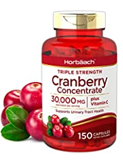Gluten Free, Non-GMO; Free of Wheat, Yeast, Milk, Lactose, Soy, Artificial Color, Artificial Flavor Triple Strength Cranberry Concentrate with Vitamin C, with 30,000 MG equivalent per serving Our cranberry pills deliver natural Antioxidants for Overa...