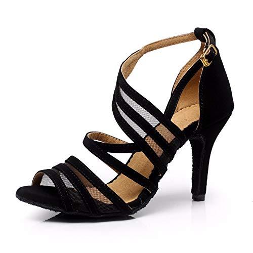 Syrads Chaussures de Danse Latine pour Femmes...