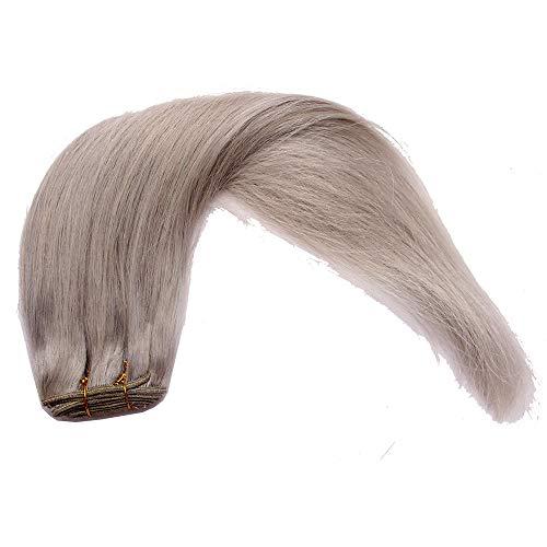 Peluca europea y americana cortina para el cabello ebay persona real moda para el cabello en Europa y América, gris
