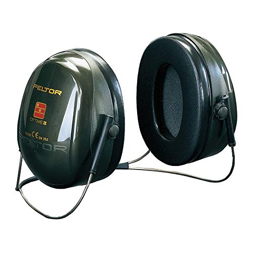 3M Peltor Optime II Kapselgehörschutz, Nackenbügel, Kapselgehörschützer, SNR 31 dB, 1 Stück, Grün