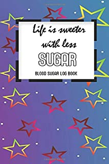 Blood Sugar Log: Be Brave, Strong & Proud Beat Diabetes Diabetic Health Blood Sugar Reading Glucose Tracker Log Book Journal
