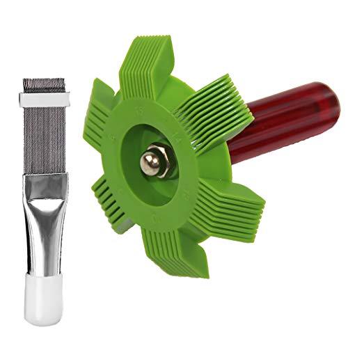2er Pack Lamellenkamm Für Klimaanlagen Lamellenkühlung, Richten, Reinigungswerkzeug